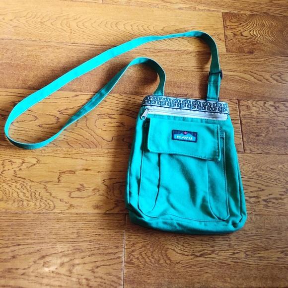 Kavu Handbags - Green Kavu Crossbody